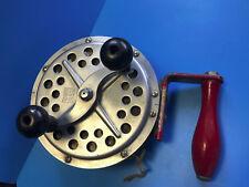 Pflueger Pakron No. 3180 Fishing Reel Made In U.S.A. Vtg. Big Game Deep Sea