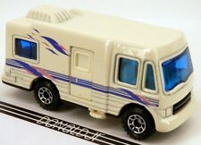 Matchbox Truck Camper Motorhome Off-White Color w/Opening Door RV 1:70 Scale