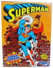 Vintage SUPERMAN Super Powers MPC MODEL KIT (1984) SEALED DC Comics Man of Steel