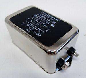 Schaffner FN2070-6-06 FN 2070-6-06 110/250VAC 6A Netzfilter -unused-