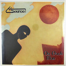 SOURCE On Each Man LP 1987 PSYCH/PROG  (PRIVATE PRESSING-STILL SEALED/UNPLAYED)