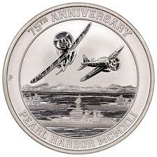 2016-P $1 Pearl Harbor Perth Mint 1 oz. Silver 75th Anniversary Coin (BU)