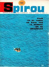 ▬► Spirou Hebdo - n°1441 du 25 Novembre 1965 - SANS mini-récit TBE