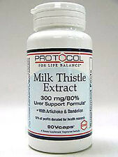 Protocol For Life Balance Milk Thistle Extract 300 mg 90 vcaps