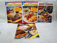 Lot of 4 Taste of Home Magazine Back Issues Quick Cooking/Collector's Edition