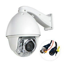 Auto Tracking CMOS 1200TVL HD Pan/Tilt Outdoor 30X Zoom PTZ IR Dome CCTV Camera