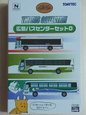 1/150 N scale TOMYTEC THE BUS COLLECTION - Hiroshima bus set D