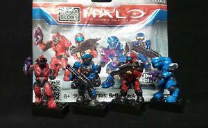 TARGET MEGA BLOKS 2011 Halo Limited Edition Versus Battle Pack 96975 2 sets RARE