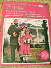 """Juliana~Xavier Roberts Rare Oop~18"""" cloth art doll pattern~full outfit as shown"""
