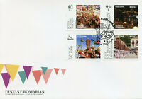Portugal Religion Stamps 2020 FDC Festivals & Pilgrimages Places of Faith 4v Set
