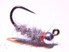 Tungsten Sexy Walt's Worm Jig - Size 14, 3 Fly Fishing Nymph Flies