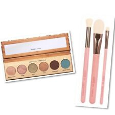 Butter London Natural Goddess Eyeshadow Palette & Luxie Gaea 3pc Brush Set $62