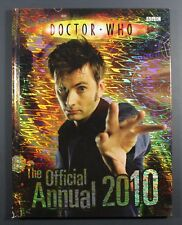 2010 BBC DR. WHO Annual - Hardcover UK exclusive book VG to EXC condition