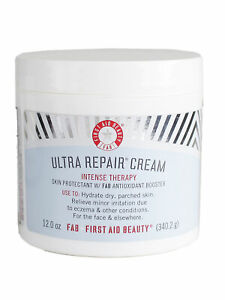 Fab First Aid Beauty Ultra Repair Cream Intense Hydration Skin, 12oz NOT SEALED