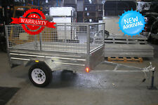 TRAILER 6 x 4 GALVANISED CAGE TYPE
