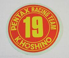 VECCHIO ADESIVO AUTO / Old Sticker F1 PENTAX RACING TEAM K.HOSHINO (cm 7)