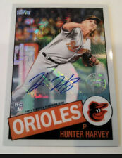 2020 Topps Series 2 HUNTER HARVEY RC Auto 74/199 RC 1985 Silver Pack