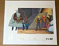 Pirates of Dark Water (1991) ORIGINAL PRODUCTION CEL ANIMATION ART HANNA BARBERA