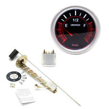 Fuel Level Gauge Car/Boat/Marine Fuel Tank Level Gauge With Fuel Sensor E-1/2-F