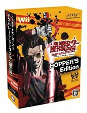 Used Wii No More Heroes 2: Desperate Struggle Limited Edition Japan Import