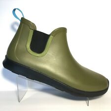 Native Apollo Rain Boots Army Green Waterproof Rubber Boots Mens Size 13 M