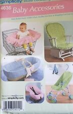 Simplicity Pattern 4636 Baby Accessories NEW Free Shipping