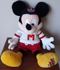 "Disney Plush Mickey Mouse Milestone 1955 Limited Edition 21"" EUC Musketeers"
