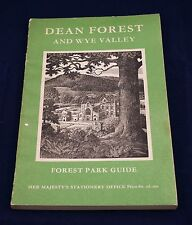 Dean Forest And Wye Valley Forest Park Guide 1964 4th Edition