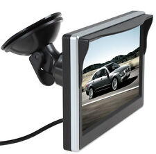 5Inch 12V / 24V TFT LCD Display Car Rear View Monitor Support VCD DVD GPS Camera