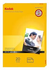 Kodak Ultra Photo Paper Satin A6 (6x4) 280gsm 40 Sheets (2 x 20pk) - 5740-091