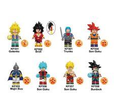 Dragon Ball Z Gotenks Broli trunks son Goku Majin Buu Building Blocks Toy