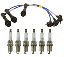 Lexus GS300 IS300 SC300 Spark Plug Wire Set NGK TE79 + 6 x PK16TT Ti-Platinum