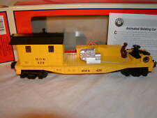 Lionel 6-82265 MOW Animated Operating Welding Car O 027 New 2015 Maintenance