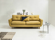 Three 3 Seater Sofa Bed with Storage, Soft  Fabric, Oak Legs, Super Design!!
