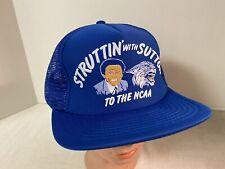 NOS Eddie Sutton Kentucky Wildcats UK NCAA Basketball Hat Cap SnapBack Vintage