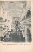 QUEBEC QC – Basilica Interior L'Interieur de la Basilique – udb (pre 1908)
