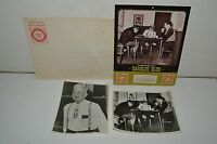 Vintage 1967 Harold's Club Reno Nevada Casino Poker Photo & Calendar PAPPY SMITH