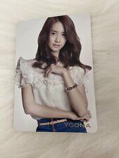 SNSD Yoona Genie Japan Jp Official Photocard Card Girls Generation Kpop K-pop