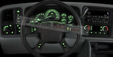 Dash Bulb to LED Upgrade Kit in Green 2003 04 05 06 Silverado Siera Tahoe & more