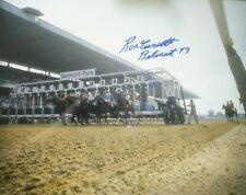 Secretariat Belmont Stakes signed photograph 11x14 Ron Turcotte autograph GATE