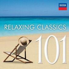 Various Artists - 101 Relaxing Classics / Various [New CD]