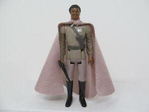 General Lando repro. Ver. 1, softer plastic. Cape & gun. Vintage-style Stan Solo