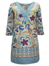 White Stuff 3/4 Sleeve Cotton Regular Size Dresses for Women