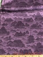 "FQ Hoffman Int'l ""Kimono Collection"" Lavender/Purple Cotton Fabric FQ"