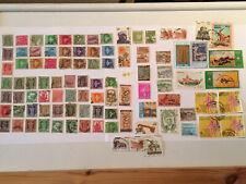 Collection of Pakistan, India , Bangladesh , Sri Lanka postage stamps ( Lot 8 )
