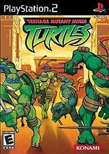 Teenage Mutant Ninja Turtles PS2 (Sony PlayStation 2, 2003) SHIPS TODAY! A+