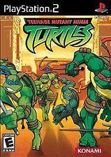TMNT Teenage Mutant Ninja Turtles Sony PlayStation 2 Complete! PAL FORMAT!!!