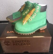 Timberland Limited Release Toddler Premium Waterproof Boots Celtic Green Size 4