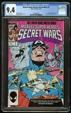SECRET WARS #7 (1984) CGC 9.4 1st APPEARANCE NEW SPIDER-WOMAN