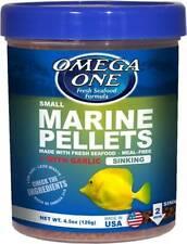 Omega One MARINE PELLETS GARLIC SMALL SINKING 126G